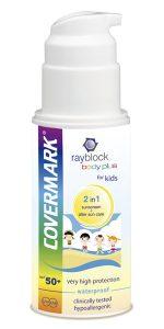 rayblock protector solar niños Covermark